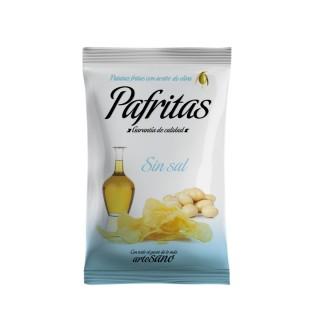 Patatas fritas sin sal