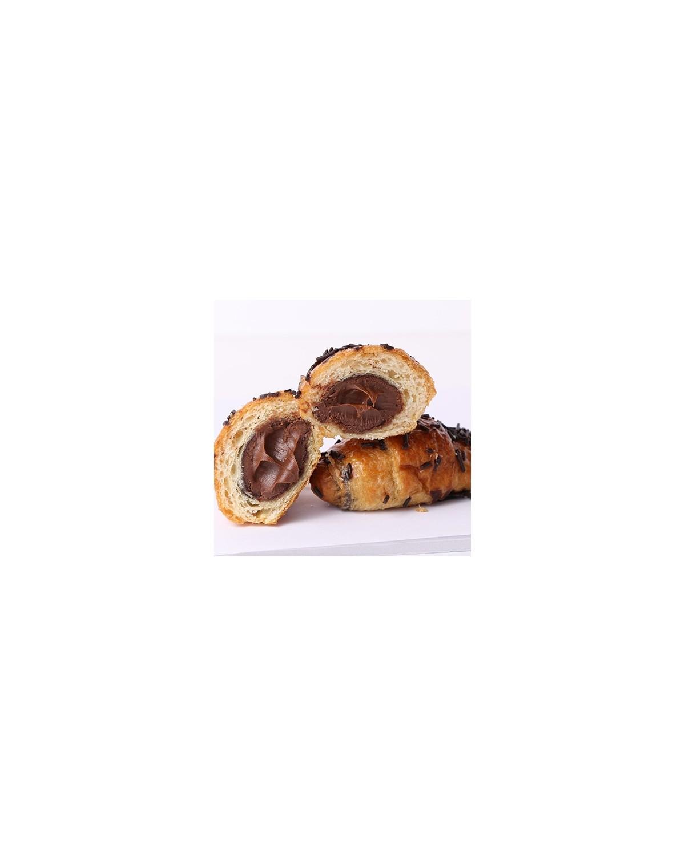 Croissant relleno de chocolate (6ud.)